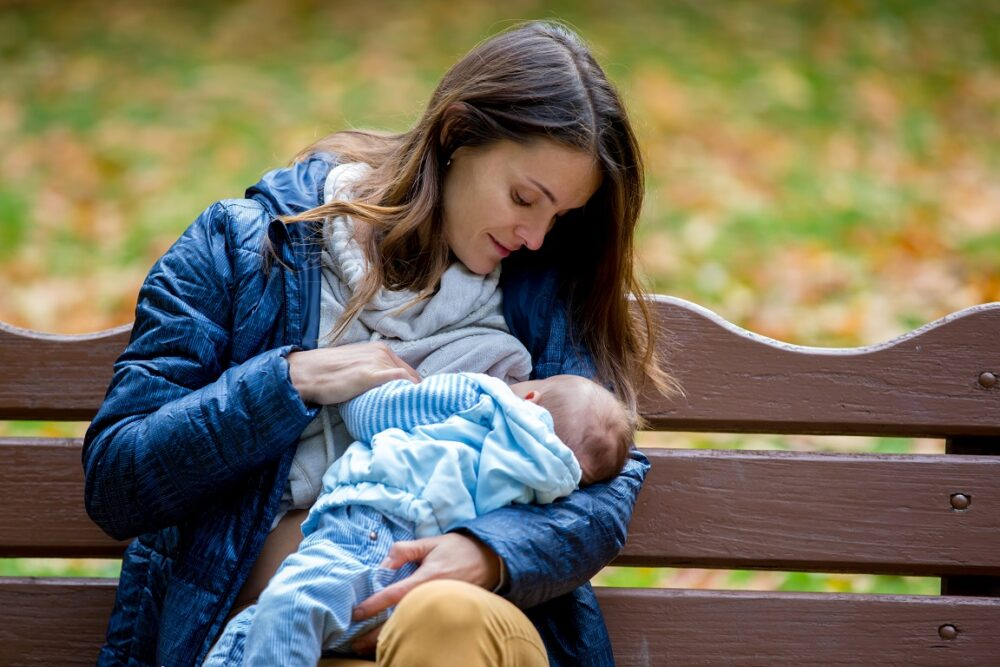 Can you cycle whilst breastfeeding?