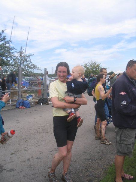 Cycling while breastfeeding my baby and training for a triathlon