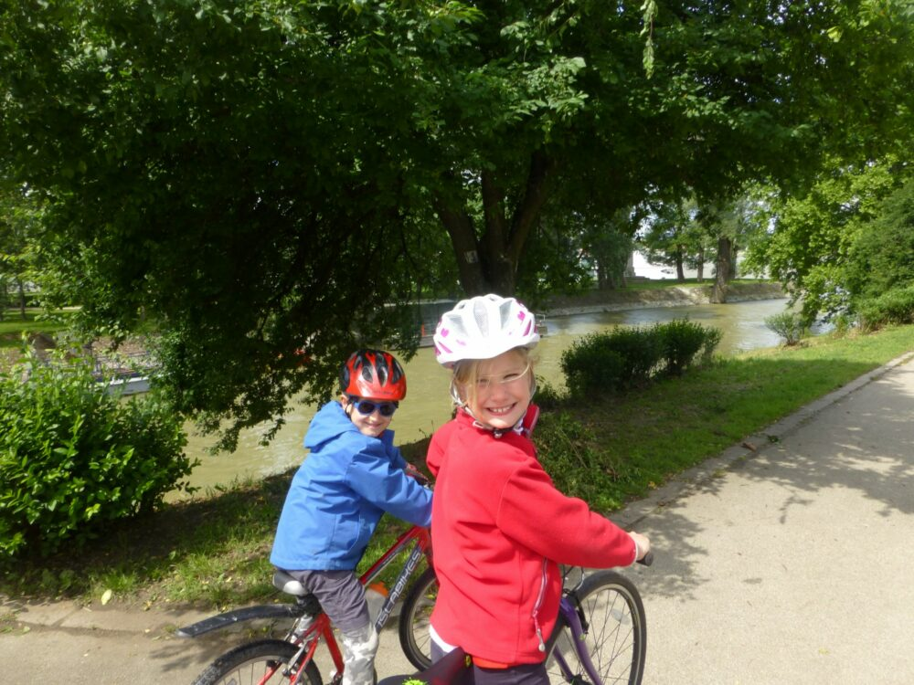 Family Cycling holiday along the RIver Danube
