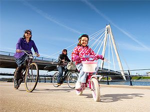 Family bike rides in Merseyside and Wirral - Sefton and Southport