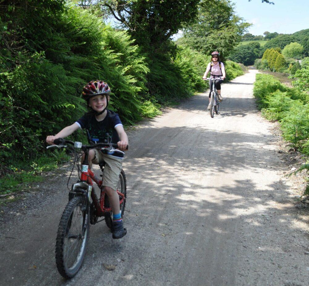 Family cycling holiday