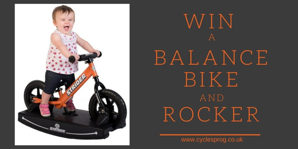 c458eed738e Win a balance bike and rocking base from Strider Bikes worth £170