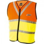 High Visibility Hi-Viz cycling vest for children in 3 kids sizes. Ideal for cycling at night with young children