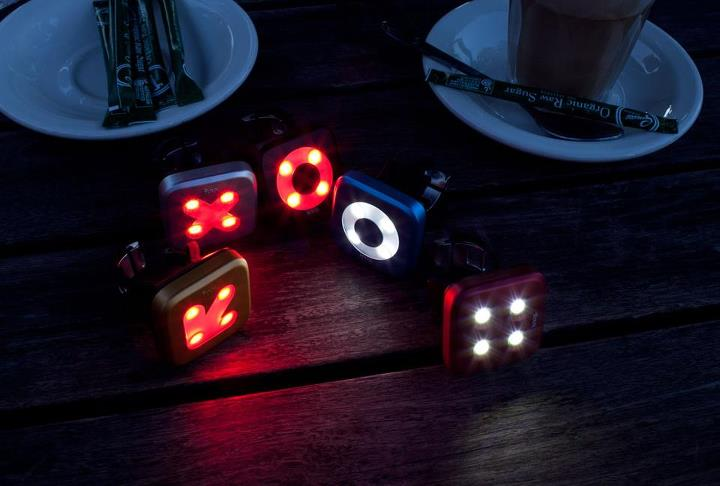 Knog Blinders out for lunch