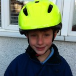 Review of the Proviz Eris luminous yellow cycle helmet to keep kids safe on the road at night