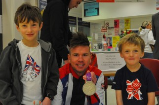 The Cycle Sprog boys meet Rik Waddon - Paralympic GB cyclist and London 2012 silver medallist