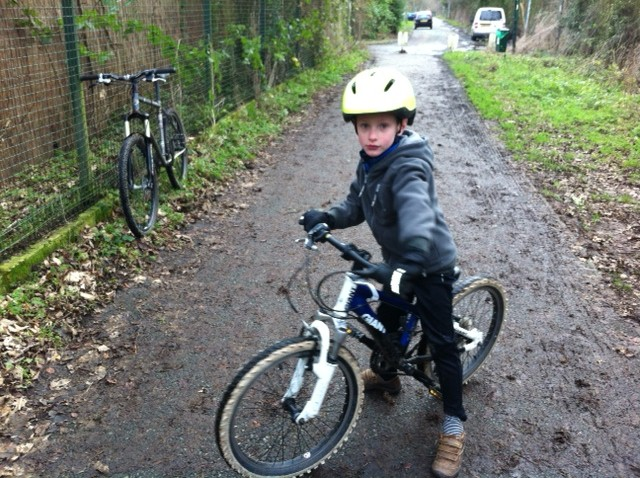 Cycling on canal towpaths - N ready to go