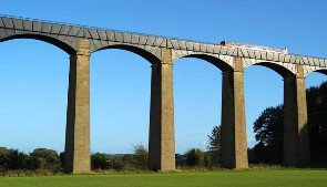 Cycling on canal towpaths - Pontcysyllte Aquaduct, Canal and River Trust