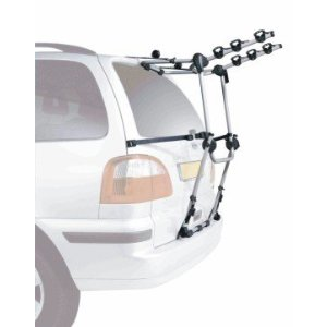 Rear bike carrier for a VW Touran