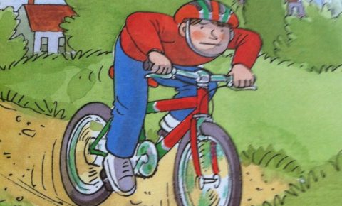 Look at me by Roderick Hunt childrens cycling book