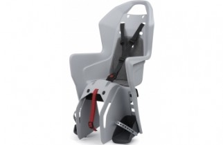 Polisport Koolah rear rack mounted seat review - a budget rear bike seat for cycling with a toddler