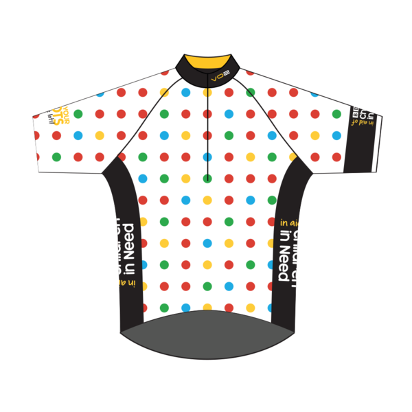 Children In Need Kids Size Cycling Jersey based on the King of the ...