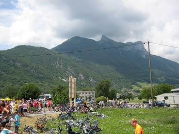 Tour de France family holiday - getting to the start