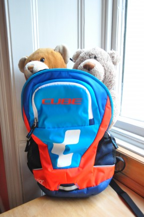 Cyclesprog review of the Cube Junior backpack