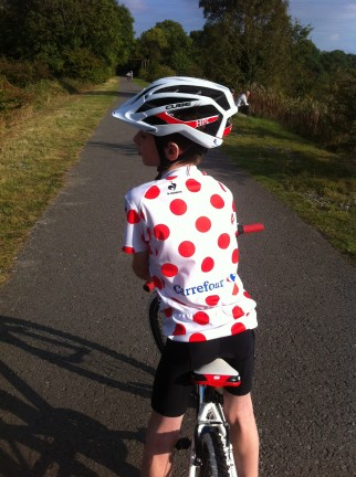 Kids size king of the mountain replica jersey review