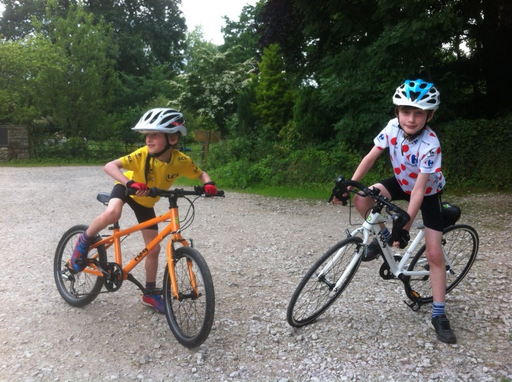 Kids Tour de France yellow jersey review and King of the Mountains junior jersey review