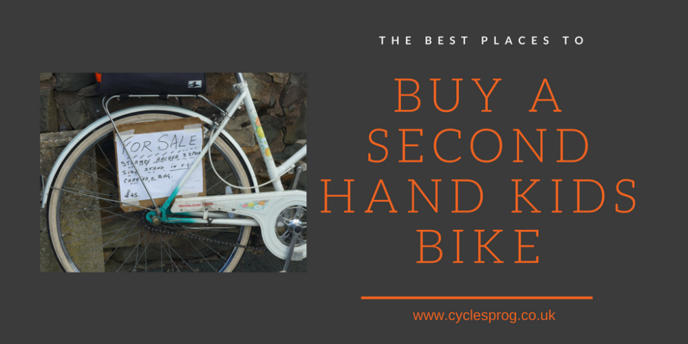 The best places to buy a second hand kids bike