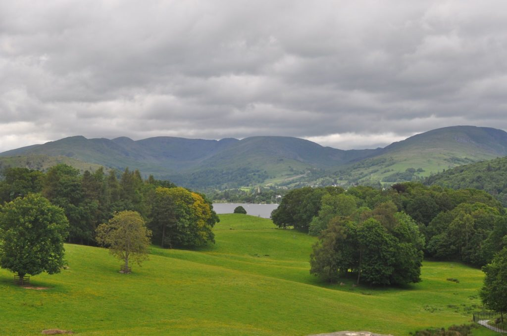 View from Wray Castle to Lake Windermere