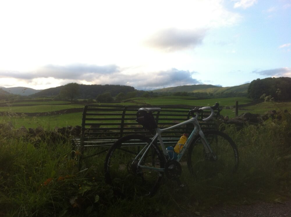 Cycling rather than watching football