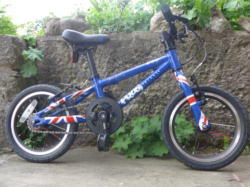 The Frog 43 review - a first bike for kids