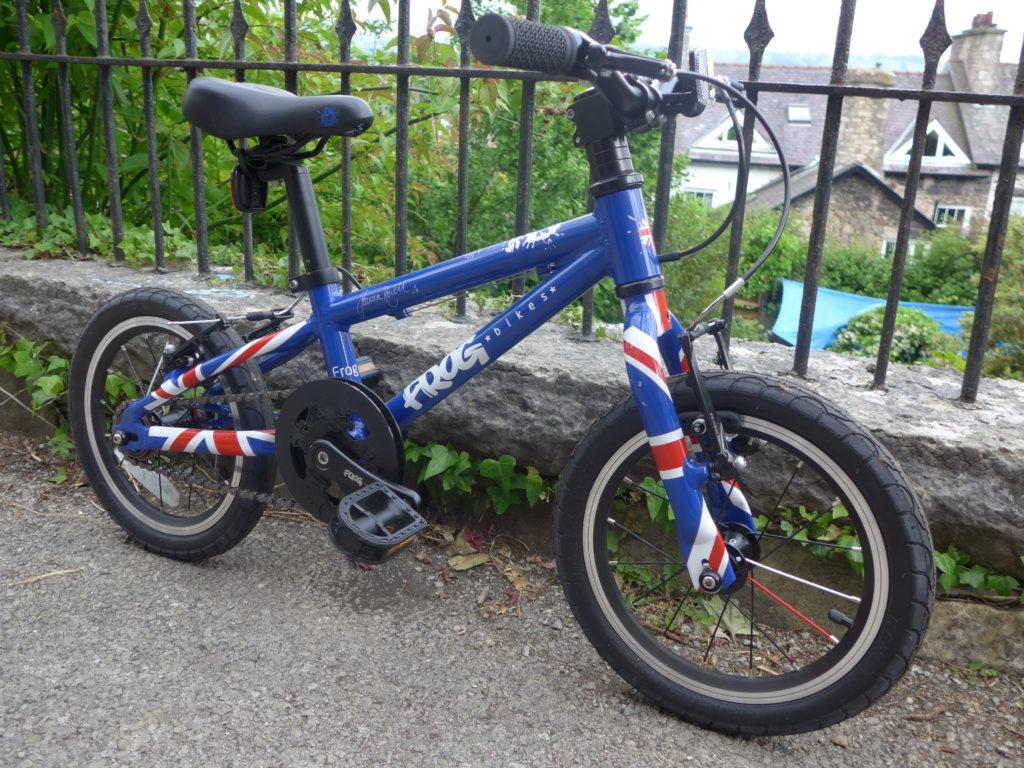 Frog 43 first kids pedal bike