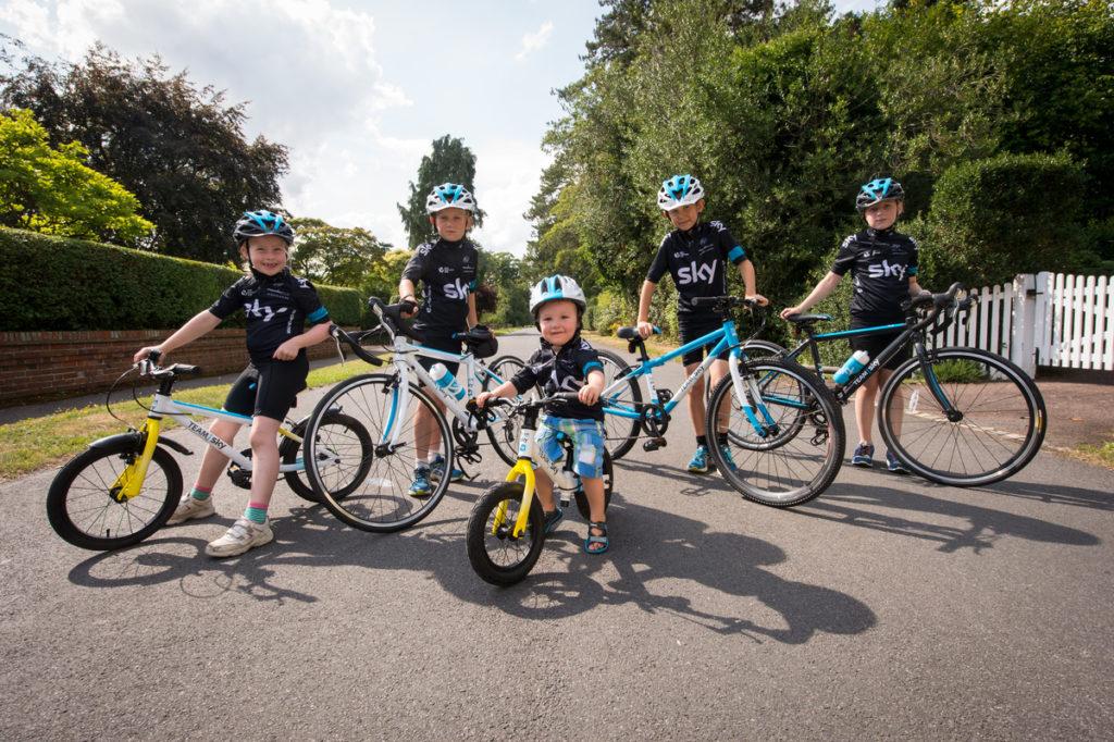 Team Sky Kids bike range
