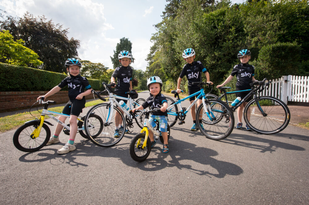 8dae45e04 Kids size Team Sky cycling kit - how to get the look!