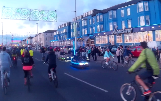 Blackpool Ride The Lights An Annual Family Friendly Bike