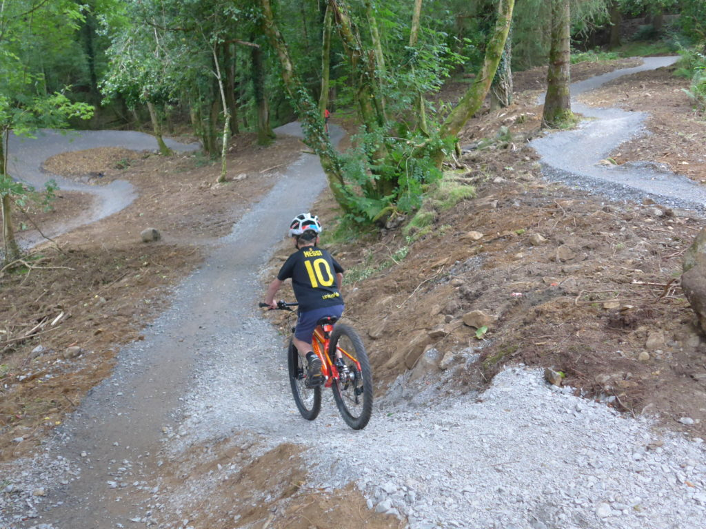 Mountain biking taster loop at 7Stanes Kirroughtree, Galloway Forest, Scotland