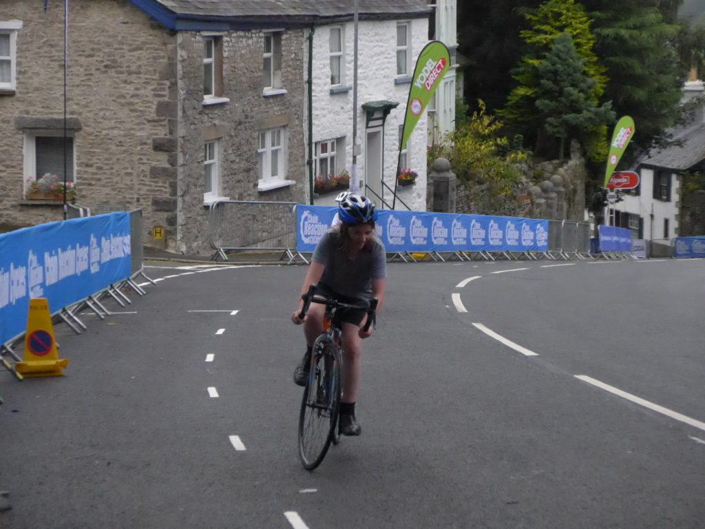 Cuda Performance CP700R riding up Tour of Britain Stage 2