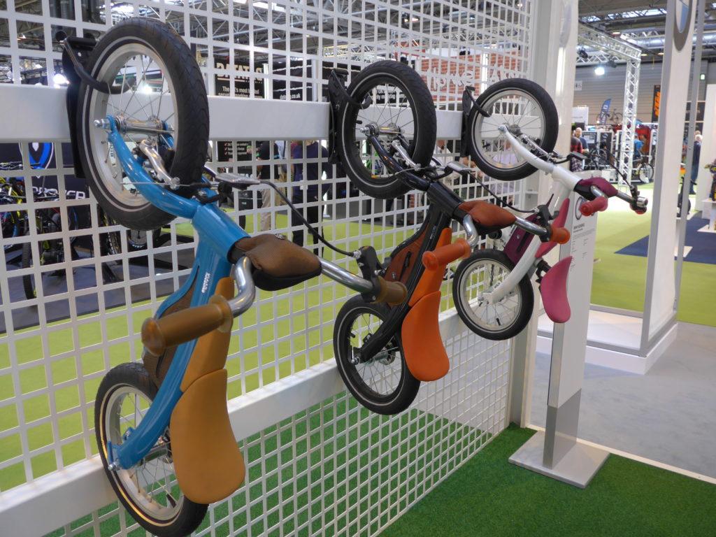 BMW balance bikes at 2016 Cycle Show