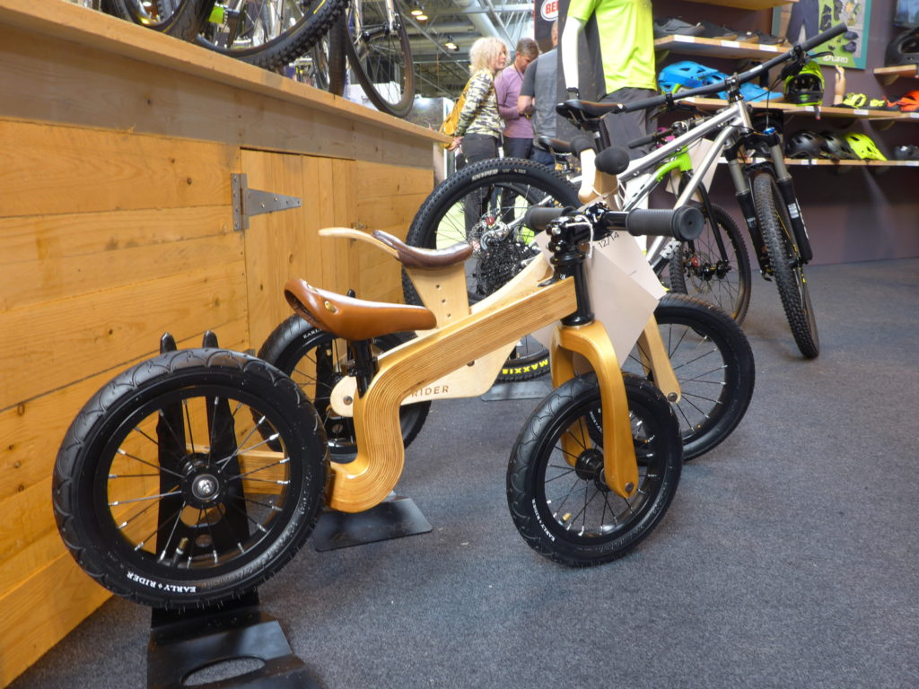 Early Rider Bonsai Balance Bike at 2016 Cycle Show NEC Birmingham