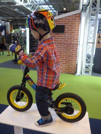 Kiddimoto Valentio Rossi Balance Bike at the 2016 Cycle Show NEC Birmingham