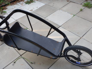The Topeak Journey bike trailer