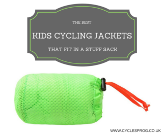 The best kids cycling jackets that fit in a stuff sack