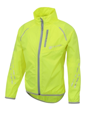 Polaris Strata packaway kids waterproof cycling jacket