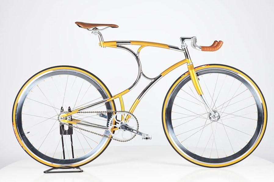 Vanhulsteijn curved bike frame