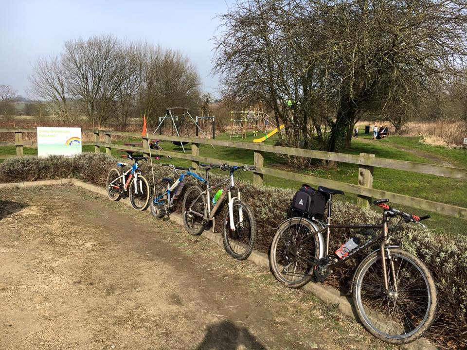 Wetherby Railway Path - family cycling in West Yorkshire