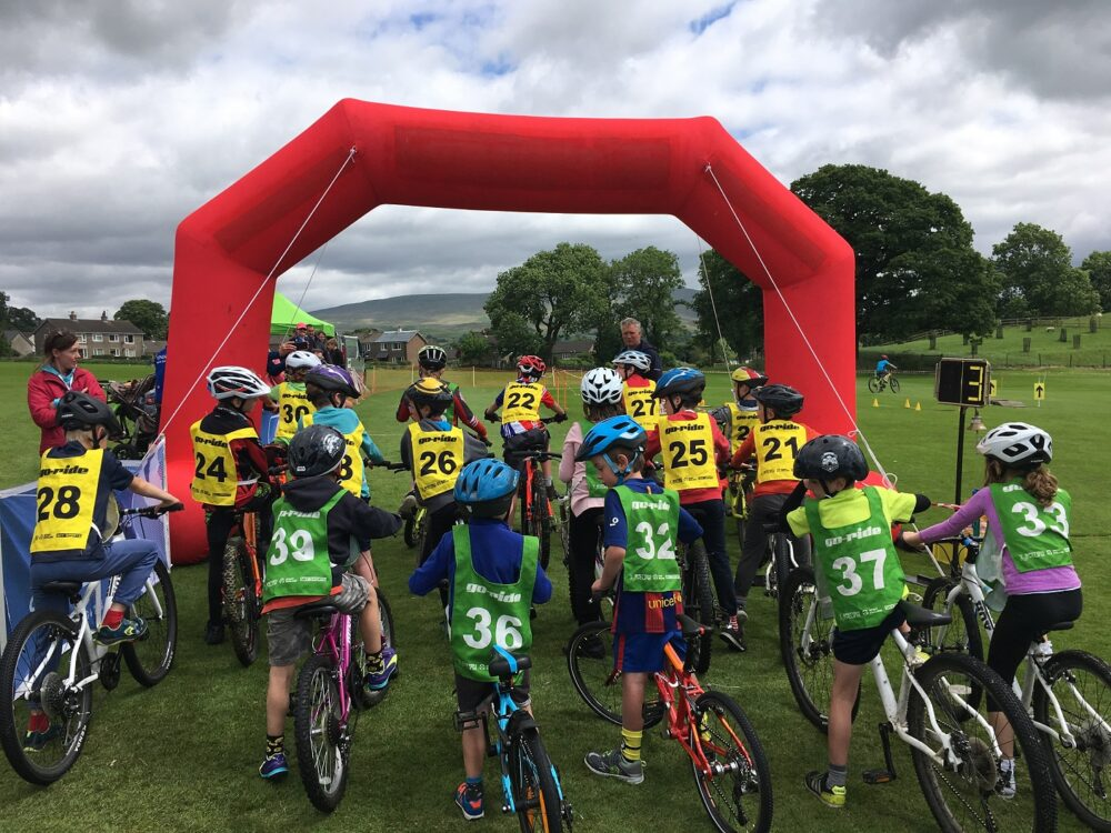Start of Go Ride race