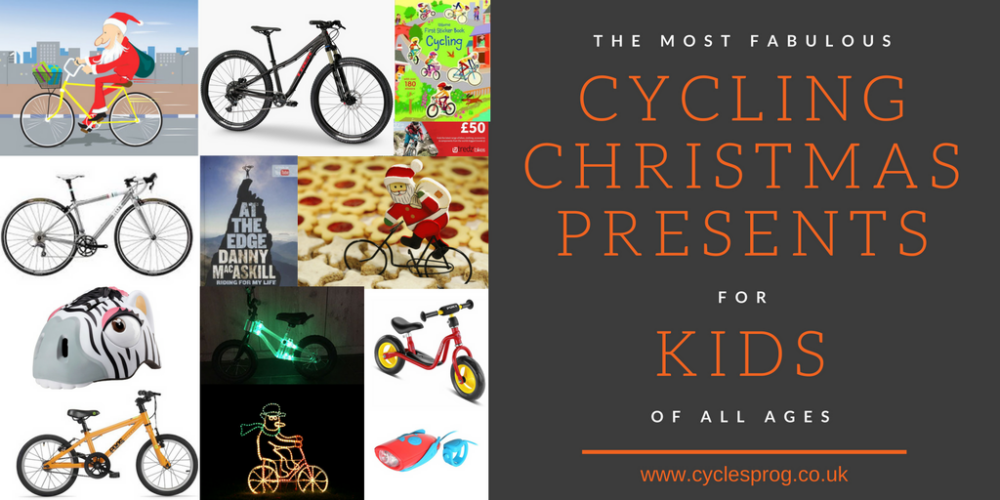 best christmas presents for cycling kids 2016 gift guide