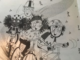 Flying Fergus by Sir Chris Hoy - a great world book day costume