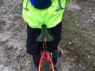 Polaris Strata waterproof kids cycling jacket
