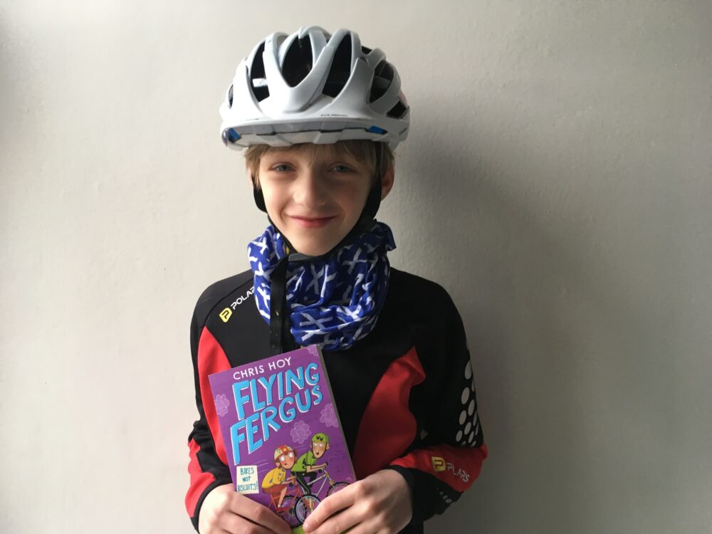 The easiest world book day costume! Flying Fergus World Book Day costume