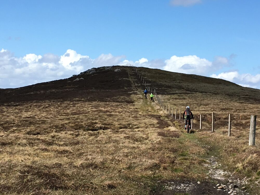 Family MTB route near Askrigg in Yorkshire Dales