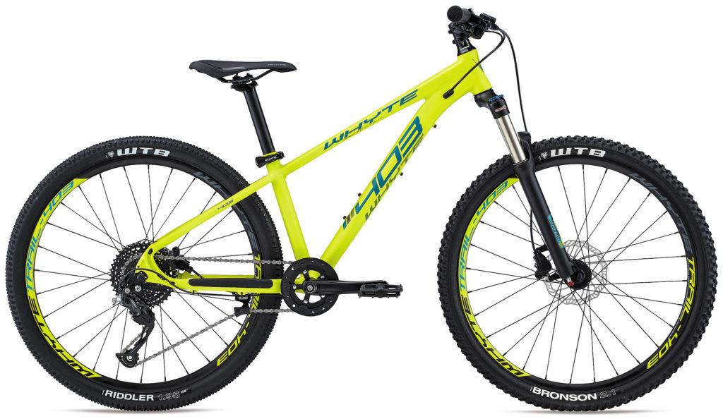 Whyte 403 in bright yellow