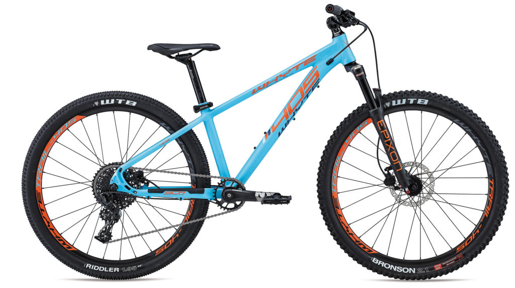 Whyte 405 in blue and orange