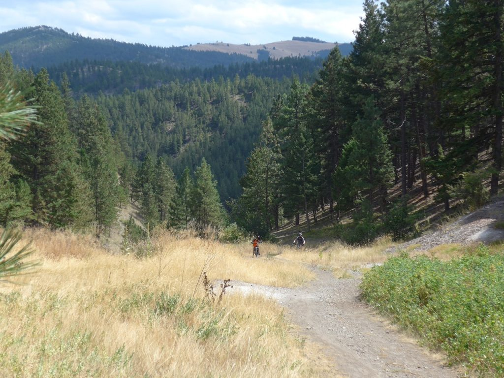 An uphill struggle for tired legs in Helena Montana