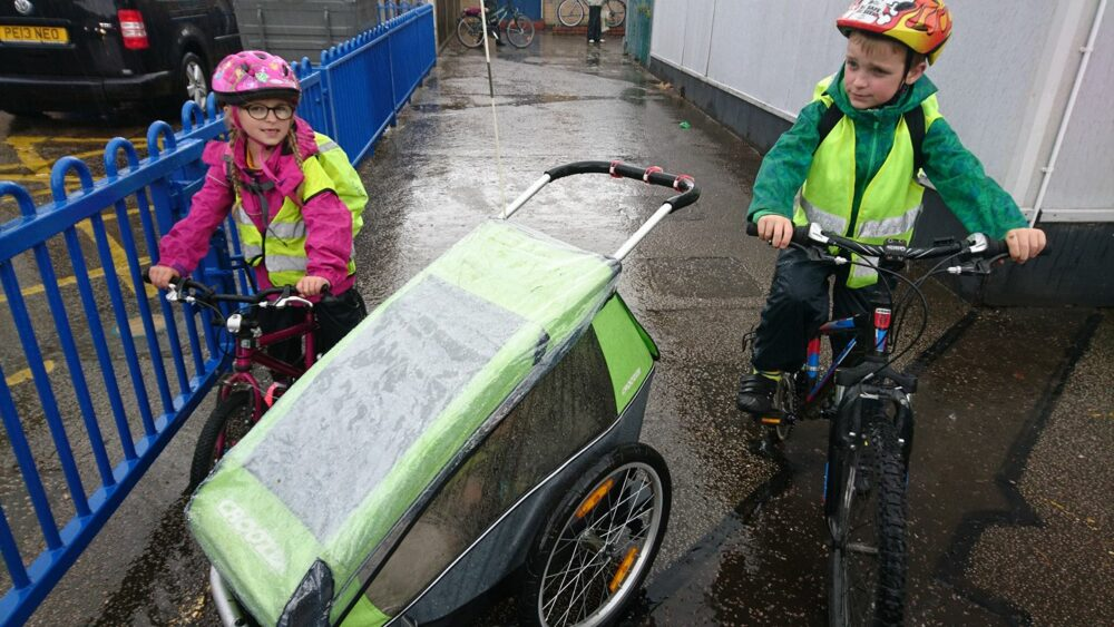 Ideas on how to get more children cycling safely to school