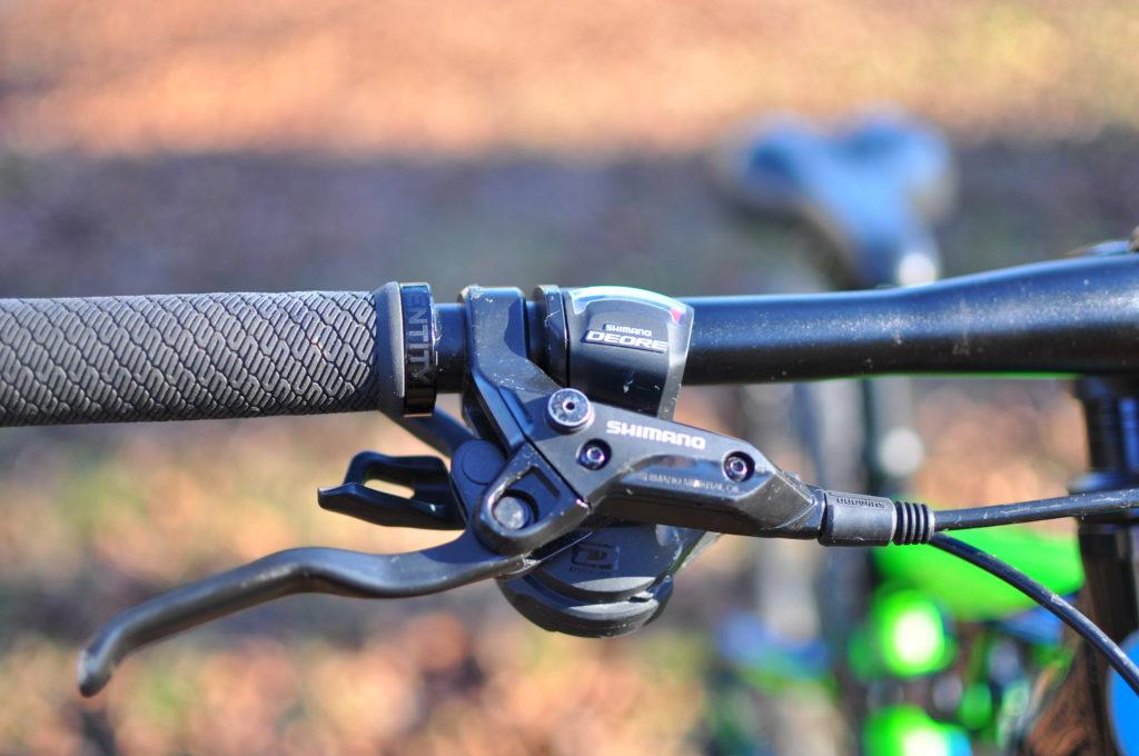 kids full suspension mountain bike - Cuda Impact Shimano brakes