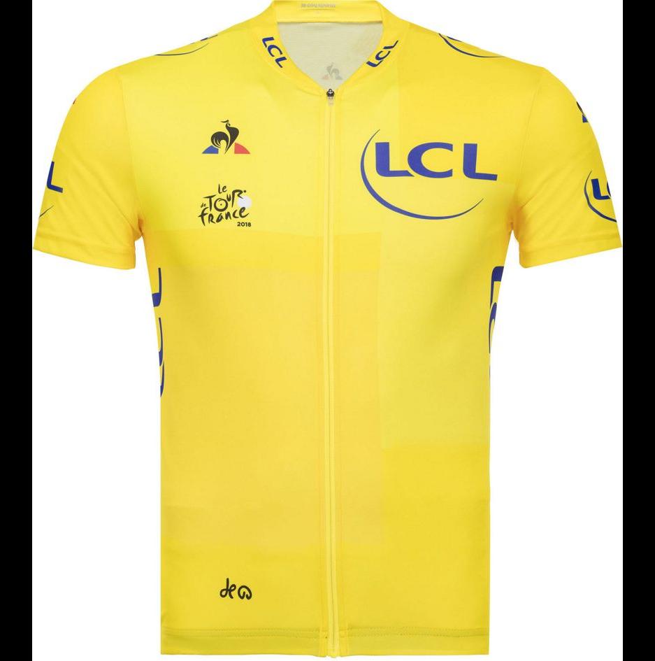 2018 Kids TDF yellow jersey